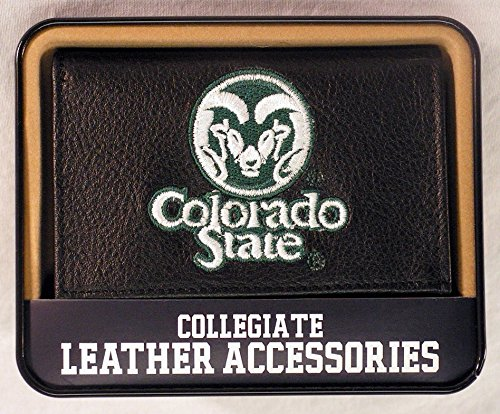 Rico Industries Colorado State Embroidered Trifold Wallet by Rico Industries