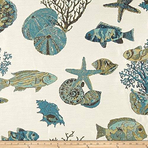 Braemore Fabrics Andros Island Jacquard Marine