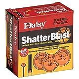 "Shatterblast Breakable Refill Target 2"" Disks (60 Pack) - New"