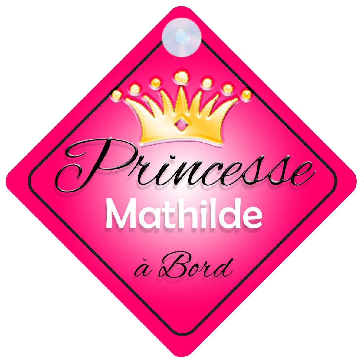 Princesse 001 Mathilde Signe Pour Voiture Enfant/Bébé à Bord