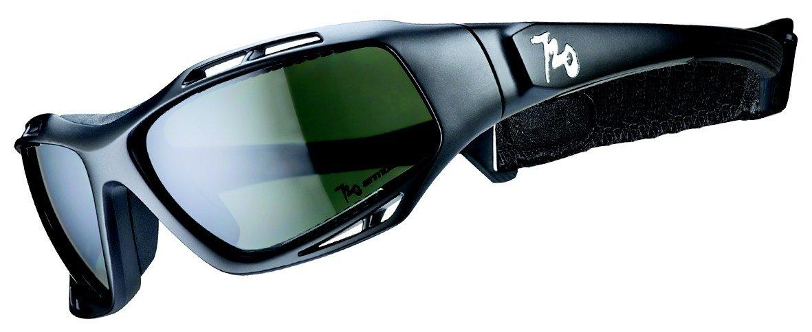720armour(セブントゥエンティアーマー) Stingrayシリーズ スポーツサングラス 偏光レンズモデル ブラック×スモーク B330-1-PCPL Matte 黒/Polarized Smoke