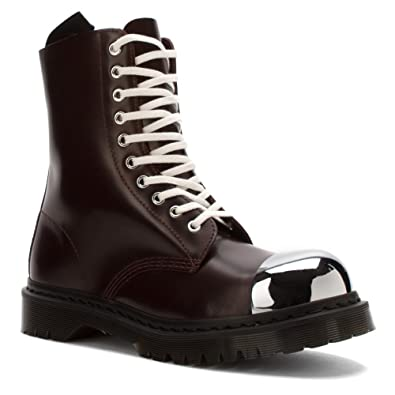 Dr. Martens Grasp External Steel Toe Boot,Oxblood Polished Smooth,UK 3 M