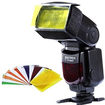 7 Color Camera Flash Photography Balance Filter For Speedlite CF-07