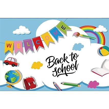 Back to school kindergarten. Amazon com baocicco x