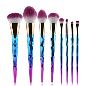 Makeup Brush, Hatop Make Up Foundation Eyebrow Eyeliner Blush Cosmetic Concealer Brushes (8PCS)