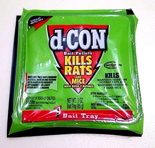 Large Pellet Rat & Mouse Poison (Pack of 4)