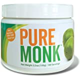 Pure Monk ( Monk Fruit ) 100 Servings 3.5 oz Paleo Sugar Free Sweetener