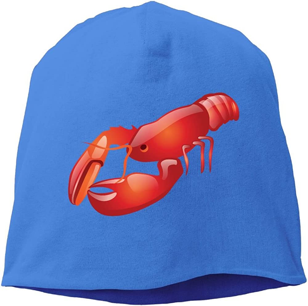 Janeither Fashion Solid Color Lobster Logo Headband for Unisex RoyalBlue One Size