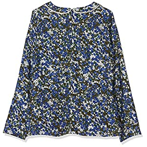 IKKS Junior Girl's Blouse Ouverture Dos Imprime Camouflage