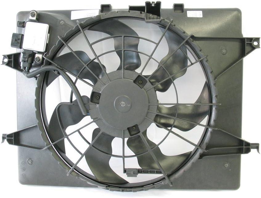 Tong Yang FAN-KA67022A Replacement Radiator/Condenser Cooling Fan Assembly 14- KA KIA OPTIMA 14-2.4L/ SONATA 2.4L 14 2.4L Gas (U.S. Build),W/Control Module(FAN-KA67022A)