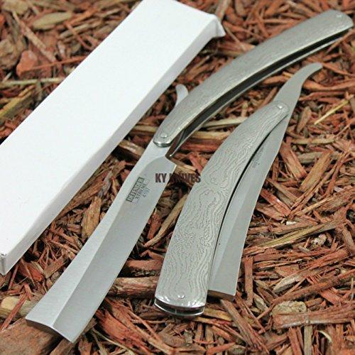 10.5'' DEFENDER EXTREME VERY SHARP Straight Razor Knife NEW SHAVING by Moon Knives