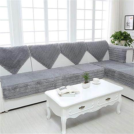 JITIAN Sofá Cojín de Funda de sofá de Color sólido ...