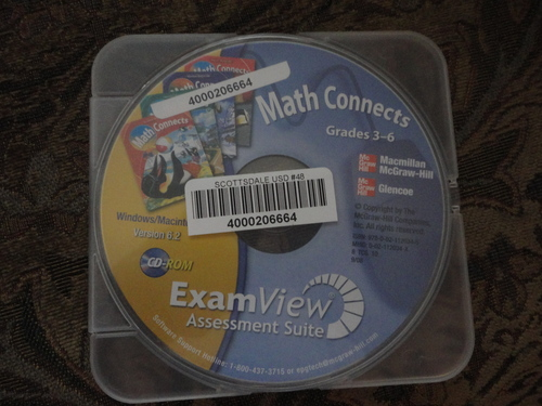 Math Connects Grades 3-6 ExamView Assessment Suite CD-ROM for Windows/Mac ISBN 9780021120345, 002112034X PDF