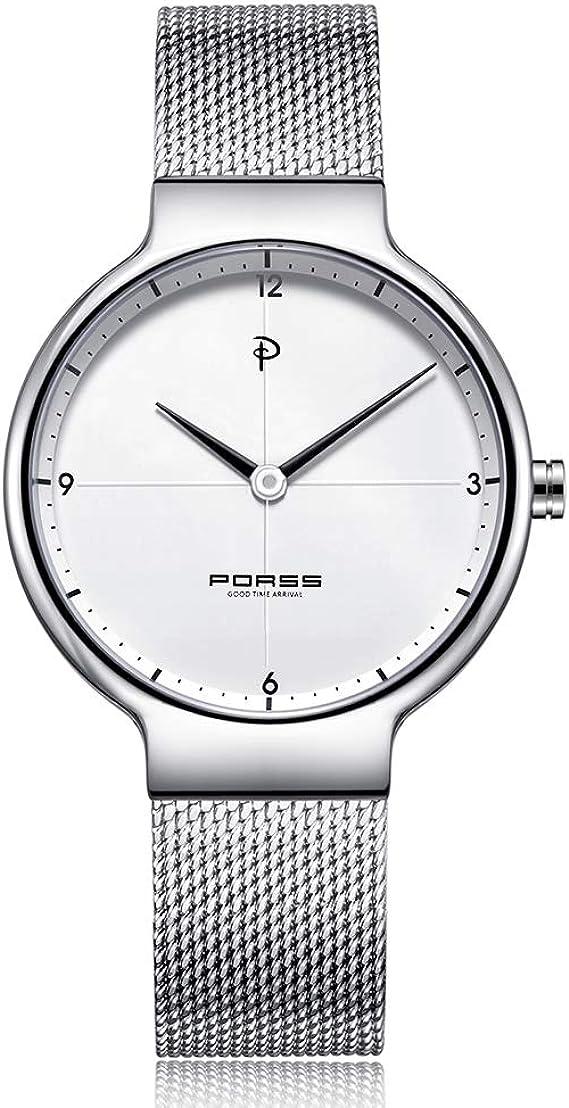 Amazon.com: NAKZEN - Reloj de pulsera para mujer, informal ...