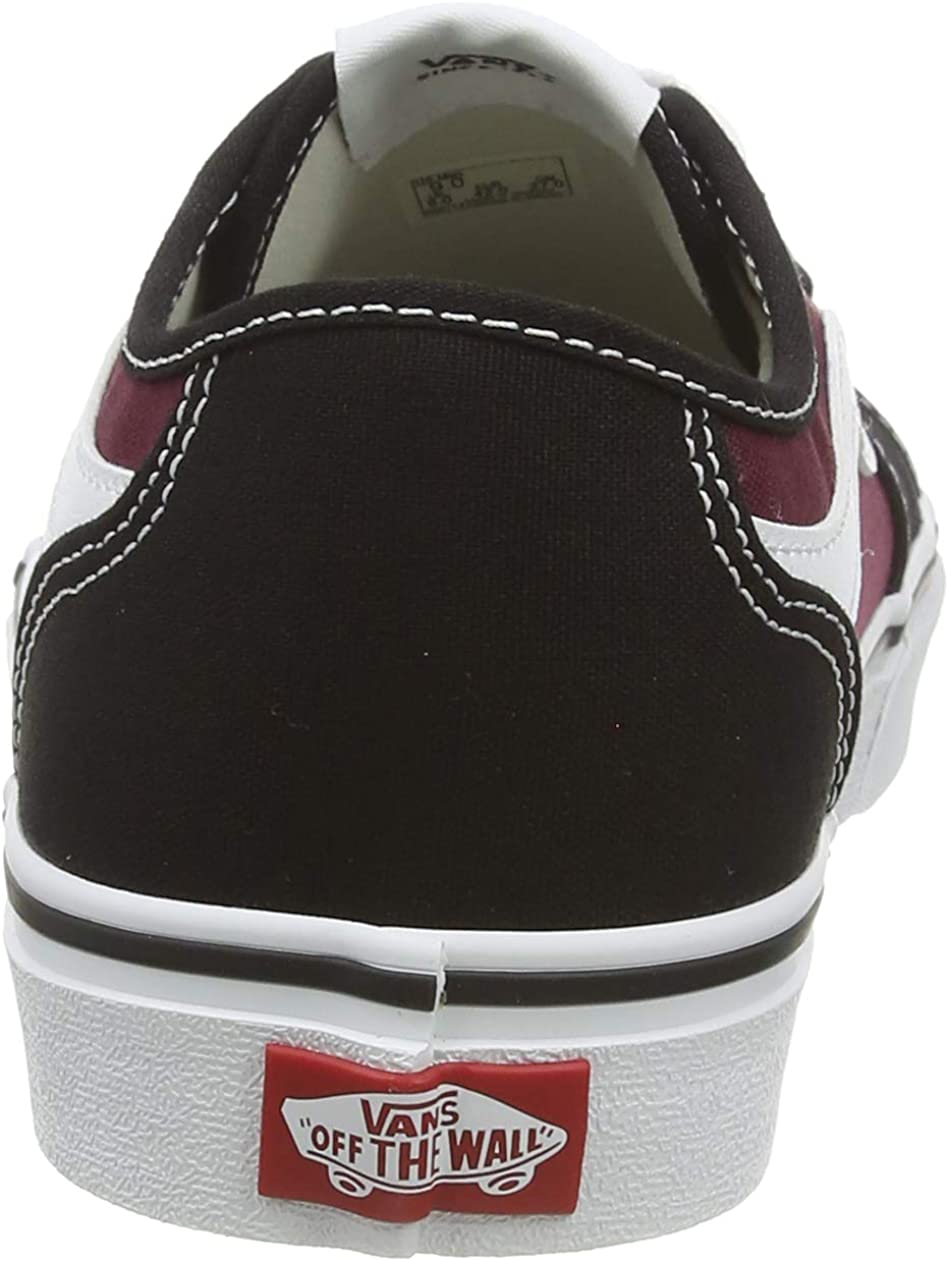 Vans Filmore Decon, Baskets Homme Multicolore Canvas Black Port Royale