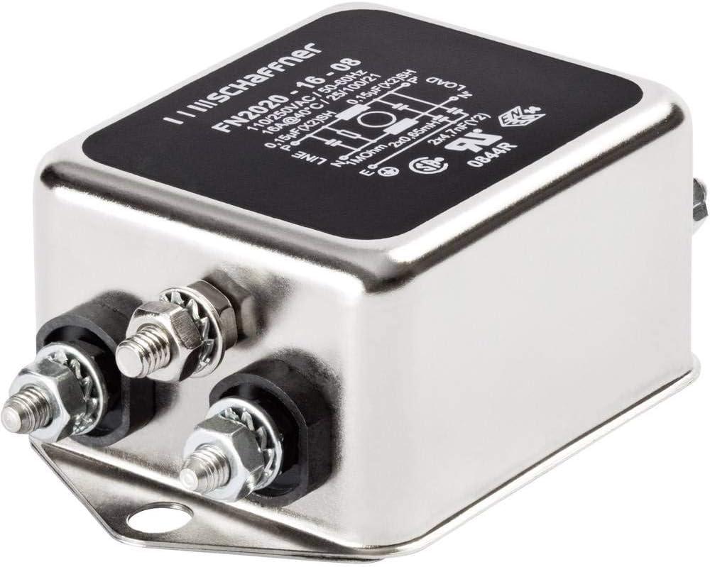 SCHAFFNER FN 2020-3-06 Filtro antidisturbo 250 V//AC 3 A 2.5 MH L x A 64 mm x 29.3 mm 1 pz.