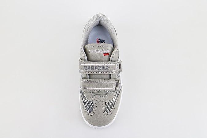 Carrera Jeans Sneakers Niños Gris Textil Gamuza AG502 (30 EU) dThhXrr3