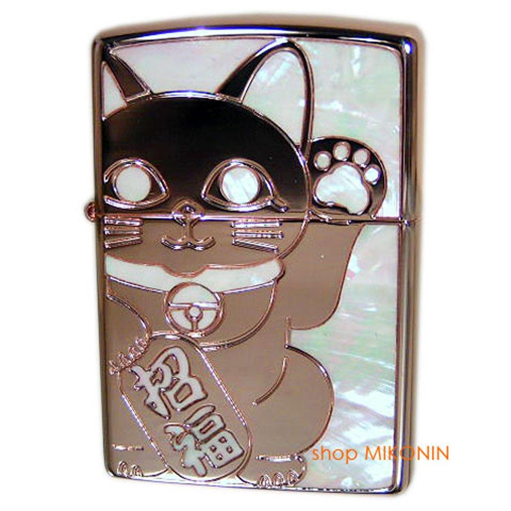ZIPPO(ジッポー) シェル ラッキーキャット RPK ローズピンク 両面 招き猫 招福 開運 縁起物 [正規品] B07FLGXDF6