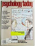 img - for Psychology Today, Volume 16 Number 8, August 1982 book / textbook / text book