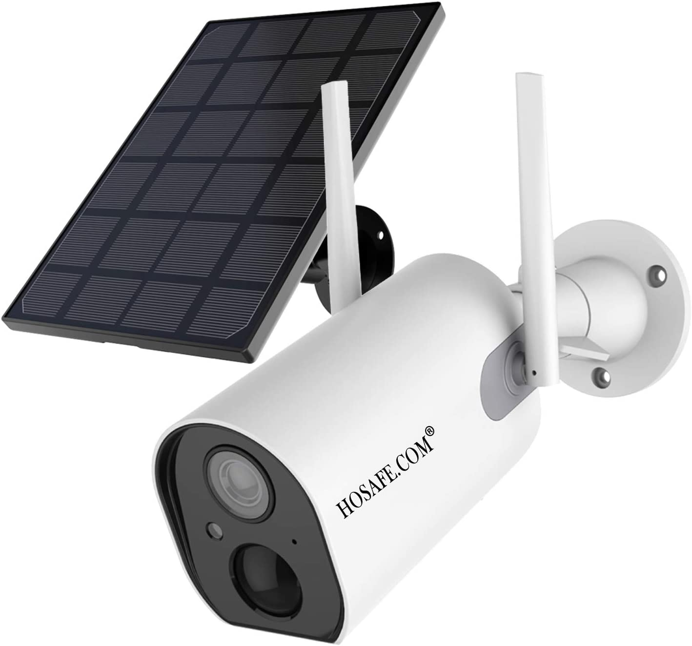 solar powered wireless security camera system with dvr
