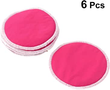 Healifty 6pcs Makeup Remover Pads Cleansing Towel Wipes Face Pads