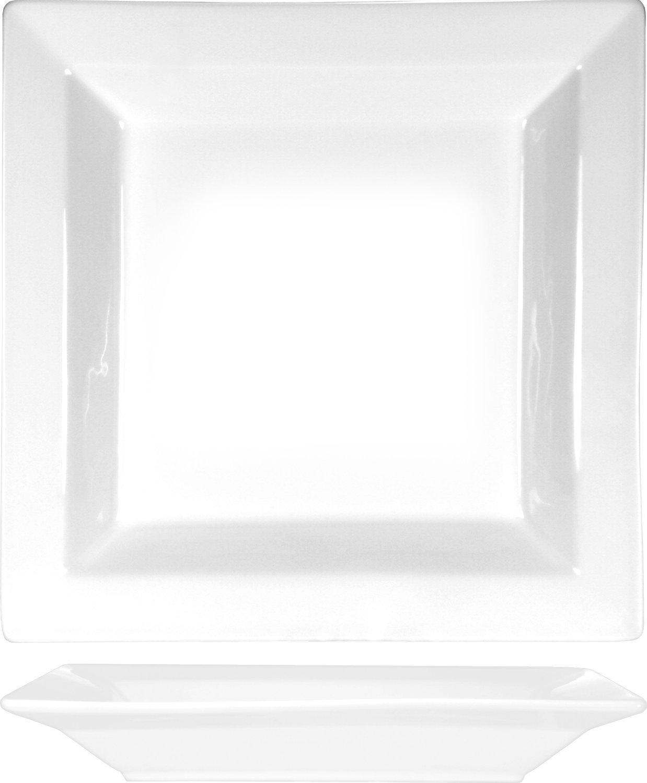 ITI EL-13 9-Inch Elite Square Pasta or Soup Bowl 12-Piece White