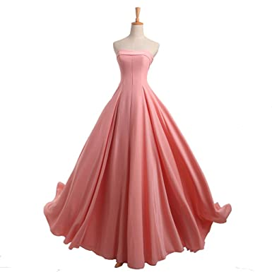 YIPEISHA Evening Dress for Women Formal Prom Dresses Bridesmaid Wedding Gowns US 2 Pink