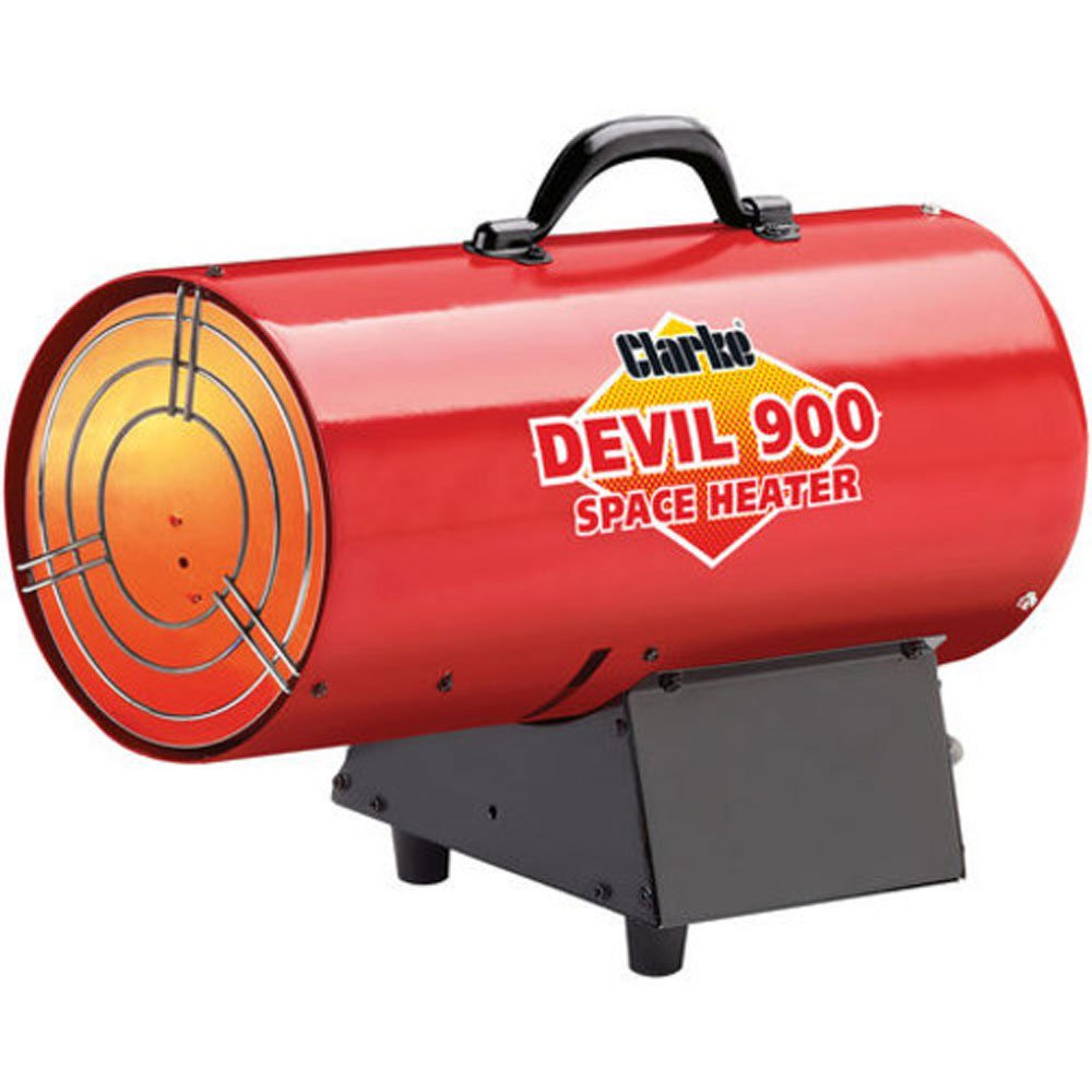 Clarke Devil 900 Propane fired Space Heater Clarke international