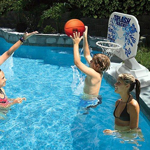 61 i9TpGWqL - Poolmaster 72820 Splashback Poolside Basketball Game