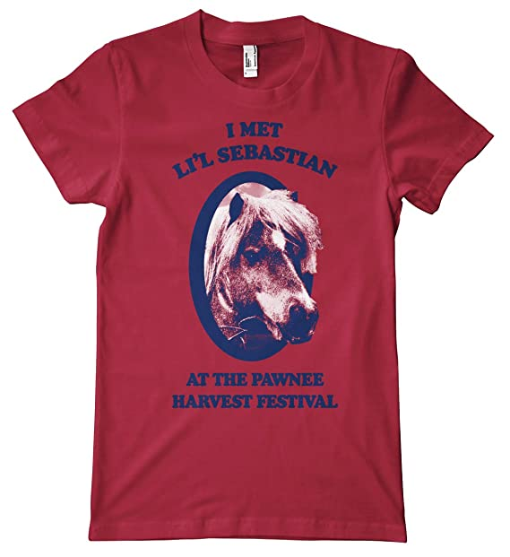 feefb9bce47 Where I Met Li l Sebastian Premium T-Shirt  Amazon.co.uk  Clothing