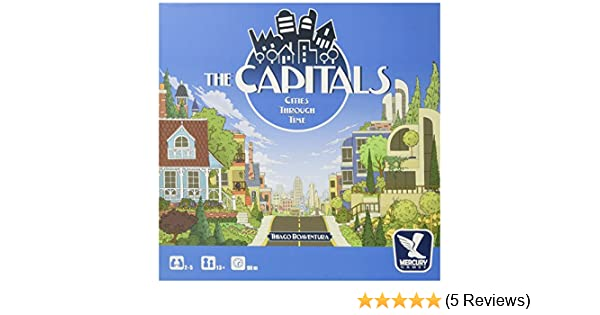 1301MCY PSI The Capitals Board Game Publisher Services Inc