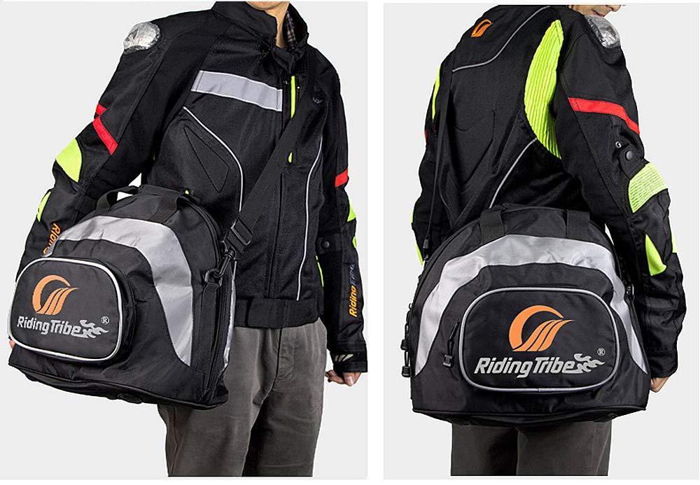 Alician Riding Motorcycle Helmet Bag Motocross Equipment Moto Tail Bag Large Capacity Travel Handbag
