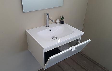 Arredo bagno mobile bagno da cm 60 con lavabo lavandino in