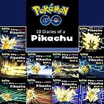 POKEMON GO: 10 DIARIES OF A PIKACHU IN 1: POKEMON GO SERIES, BOOKS 1-10