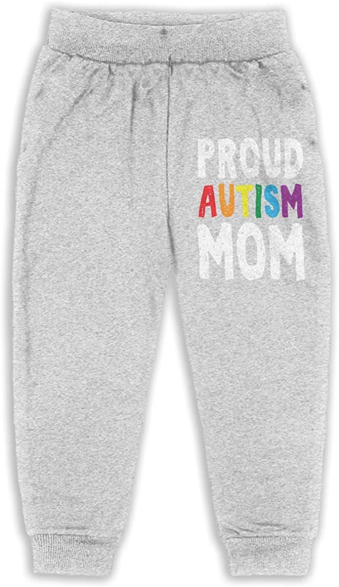 Proud Autism Mom Kids /& Toddler Sweatpants Classic Baby Boy Jogger Play Pant