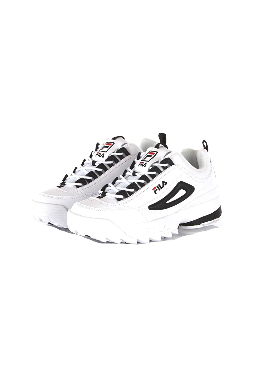 Fila Scarpe Sneakers Uomo Disruptor CB Low Bianche Rosse BLU