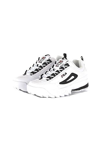 Amazon.com | Fila Sneakers Uomo 40 Bianco/Nero Disruptor Cb ...