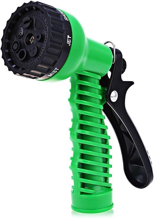 7 El Patrón Jardín Manguera Inyector, Inyector De Alta Presión Pistola Agua De Riego para Regar Césped Y Jardín Car Wash Limpieza: Amazon.es: Hogar