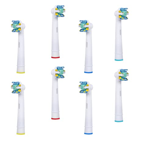Spares2go - Cabezales para cepillo de dientes eléctrico Oral B EB25-A (8 unidades