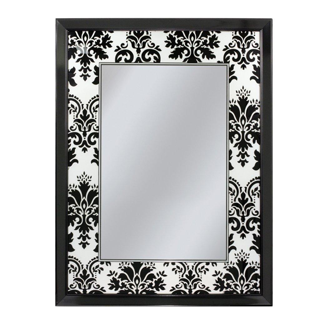 Damask Mirrors Amazon head west elysian damask mirror 27 by 35 inch home amazon head west elysian damask mirror 27 by 35 inch home kitchen sisterspd