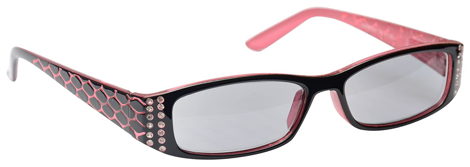 e6857ff3a4bd3 Sun Readers Reading Glasses Sunglasses Womens Ladies UV400 Protection Pink UV  Reader UVSR001 Inc Case Strength +1.00  Amazon.co.uk  Health   Personal Care