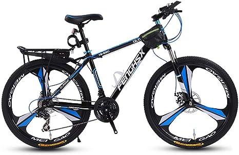 LRHD Las bicicletas de montaña, 24/26 pulgadas hombres y mujeres MTB de la bicicleta, acero