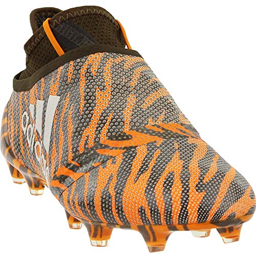 adidas Mens X 17+ PureSpeed Firm Ground Soccer Casual Cleats, Orange, 7.5