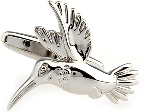 Hummingbirds Cufflinks in Sterling Silver
