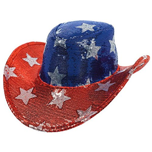 all-american-fourth-of-july-patriotic-sequin-cowboy-hat-accessory-fabric-5-x-13