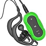 Aerb® 4G Wasserdichte MP3-Player für Schwimmen und andere Sportarten (IPX-8 Standard) (Grün)