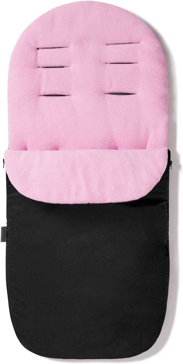 Light Pink Footmuff//Cosy Toes Compatible with Mothercare Nanu