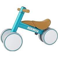 KORIMEFA Bicicleta de Equilibrio para Bebés 10-36 Meses sin Pedalescon 4 Ruedas Ultraligera y Triciclos Bebes…