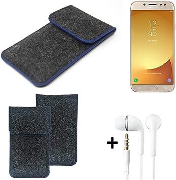K-S-Trade® Funda Protectora De Fieltro para Samsung Galaxy J7 ...