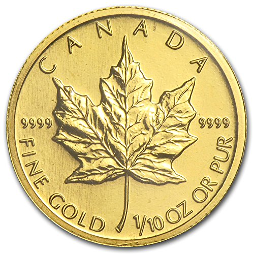 2009 CA Canada 1/10 oz Gold Maple Leaf BU Gold Brilliant Uncirculated